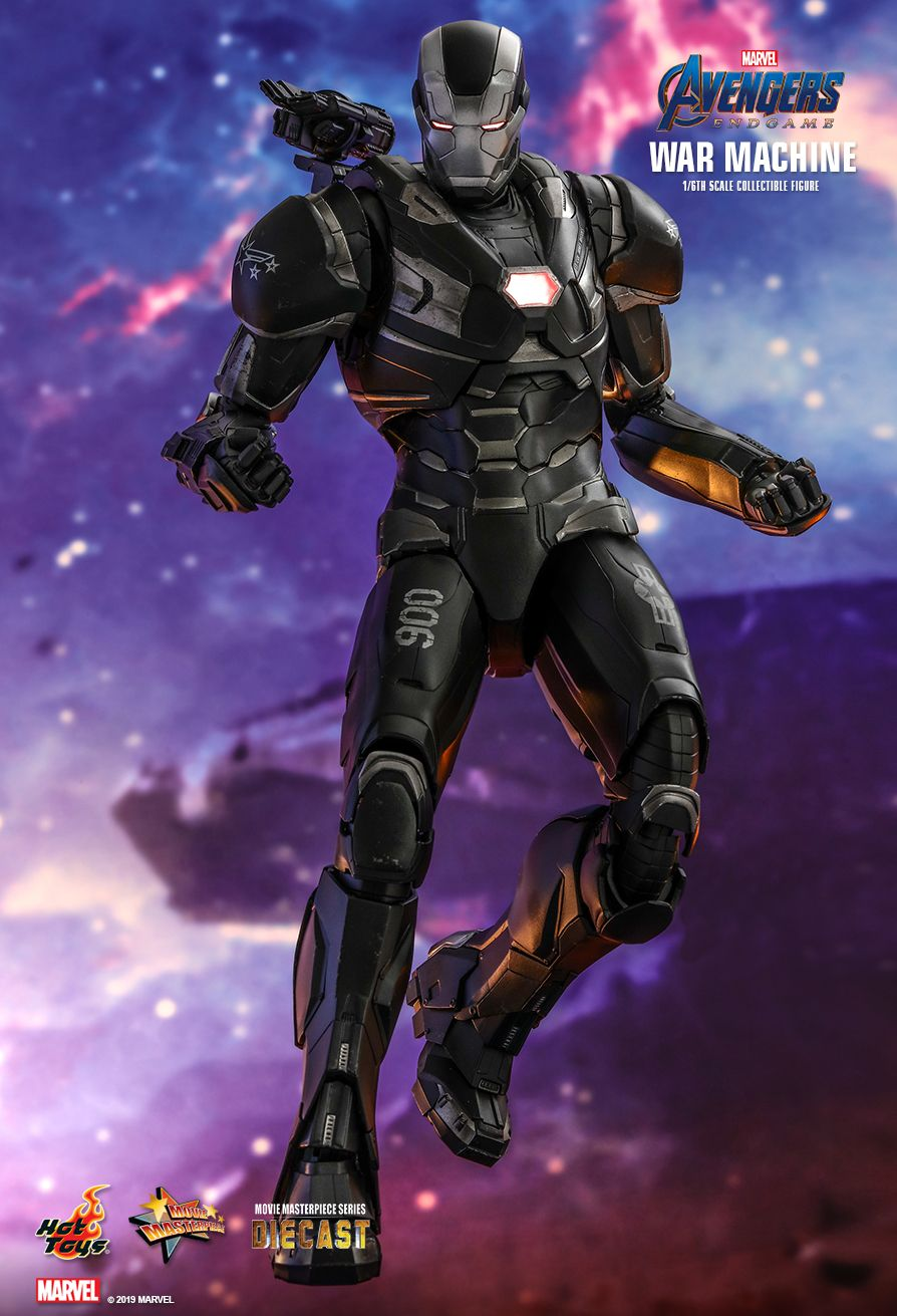WarMachine - NEW PRODUCT: HOT TOYS: AVENGERS: ENDGAME WAR MACHINE 1/6TH SCALE COLLECTIBLE FIGURE 5187
