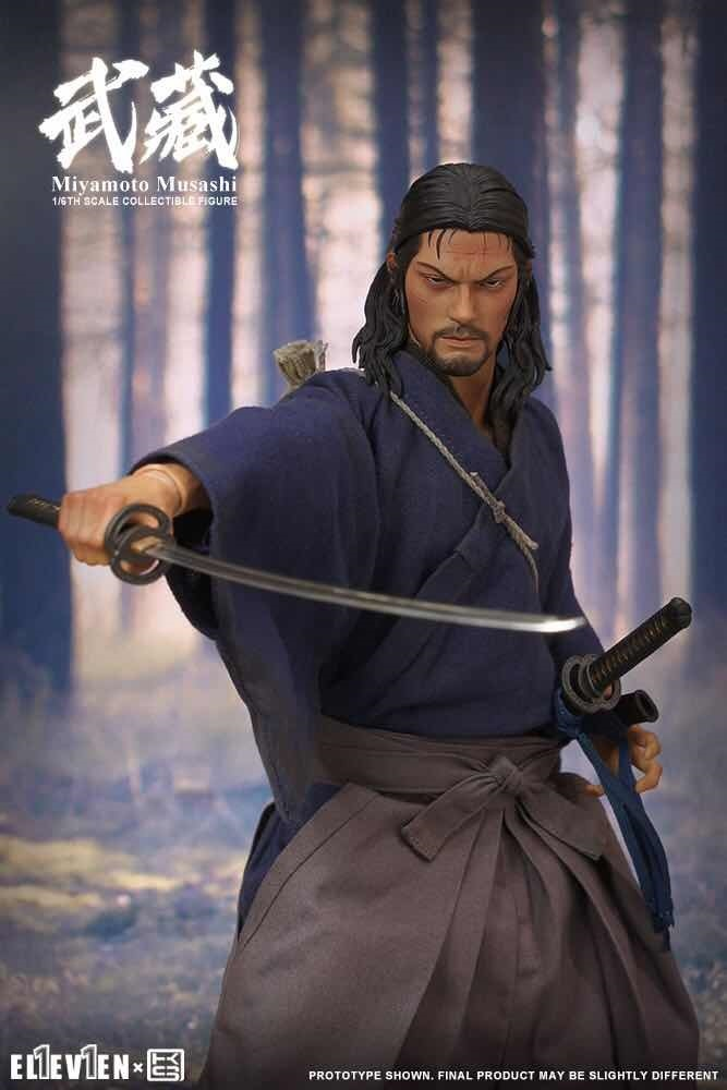 NEW PRODUCT: Eleven X KAI Musashi 1/6 Scale Figure 5204