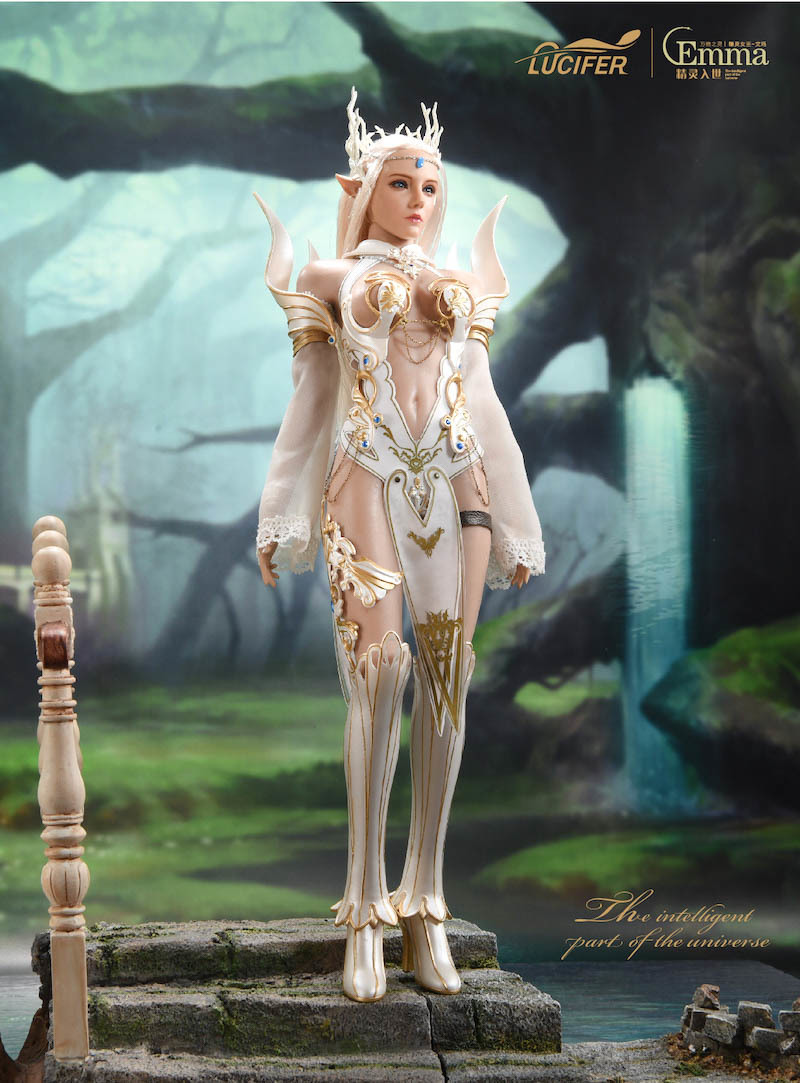 fantasy - NEW PRODUCT: [LXF-1904B] Elf Queen Emma Queen Version 1:6 Figure by Lucifer 5215