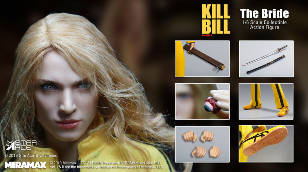 NEW PRODUCT: [SA-0039] Kill Bill The Bride Vol. 1 1/6 Scale Figure by Star Ace 5218