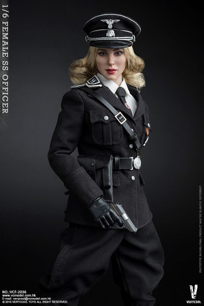 VeryCool - NEW PRODUCT: VERYCOOL VCF-2036 1/6 SS Female Officer 522
