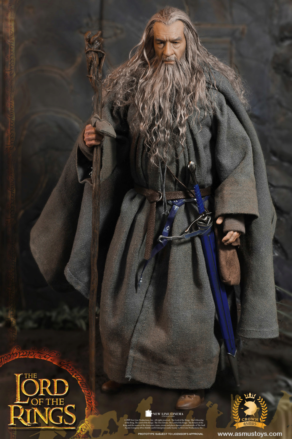 NEW PRODUCT: ASMUS TOYS THE CROWN SERIES : GANDALF THE GREY 1/6 figure 5227