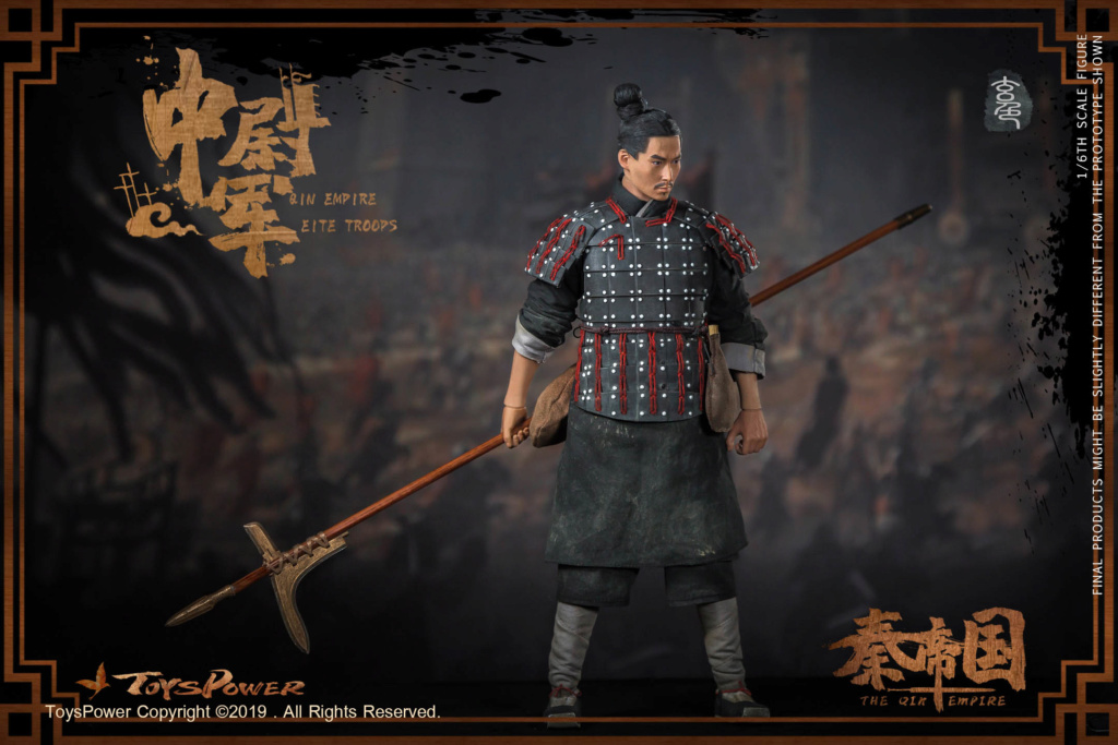Army - NEW PRODUCT: Toyspower: 1/6 Qin Empire Lieutenant Army (Terracotta Warriors) movable doll CT012# (update armor piece drawing) 5228