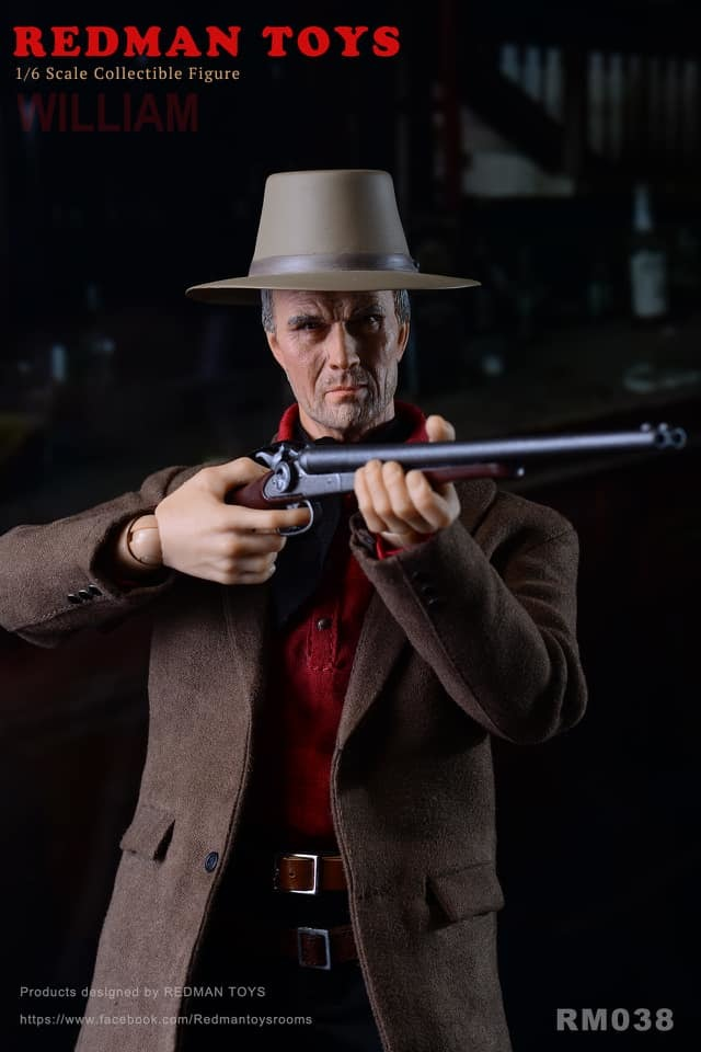 NEW PRODUCT: Redman: [RMT-038] The Cowboy Unforgiven William 5232