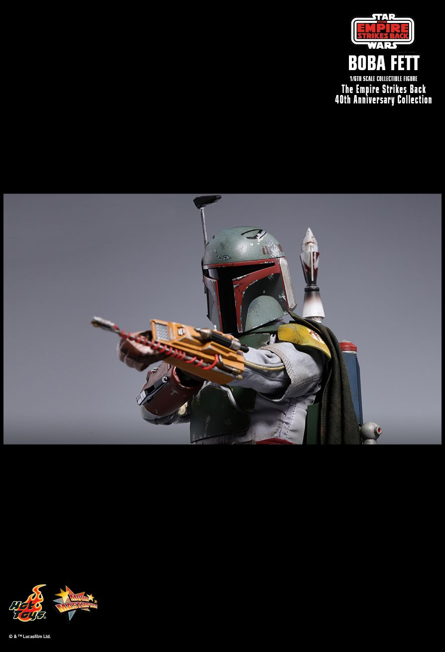 EmpireStrikesBack - NEW PRODUCT: HOT TOYS: STAR WARS: THE EMPIRE STRIKES BACK™ BOBA FETT™ (STAR WARS: THE EMPIRE STRIKES BACK 40TH ANNIVERSARY COLLECTION) 1/6TH SCALE COLLECTIBLE FIGURE 52529010