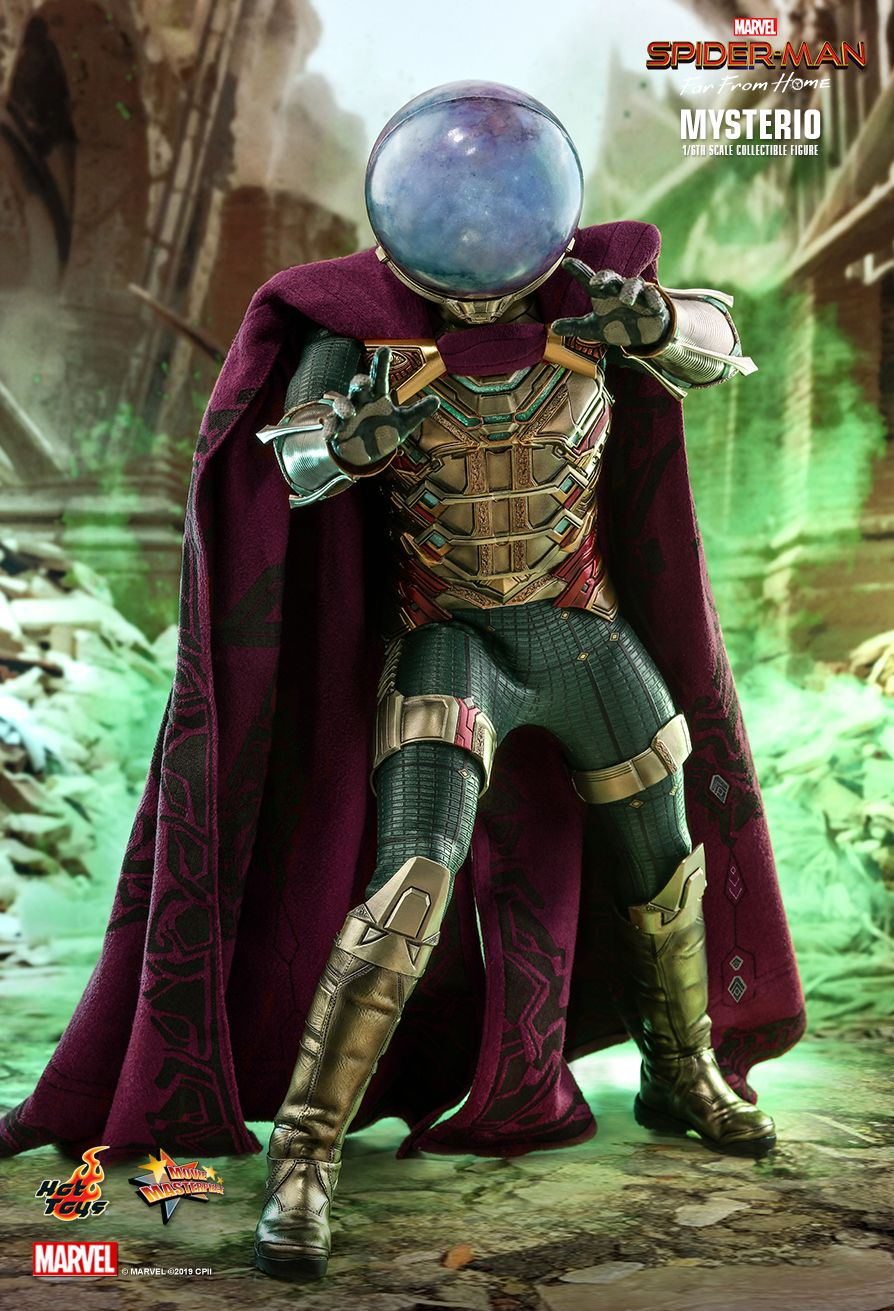 NEW PRODUCT: HOT TOYS: SPIDER-MAN: FAR FROM HOME MYSTERIO 1/6TH SCALE COLLECTIBLE FIGURE 5259