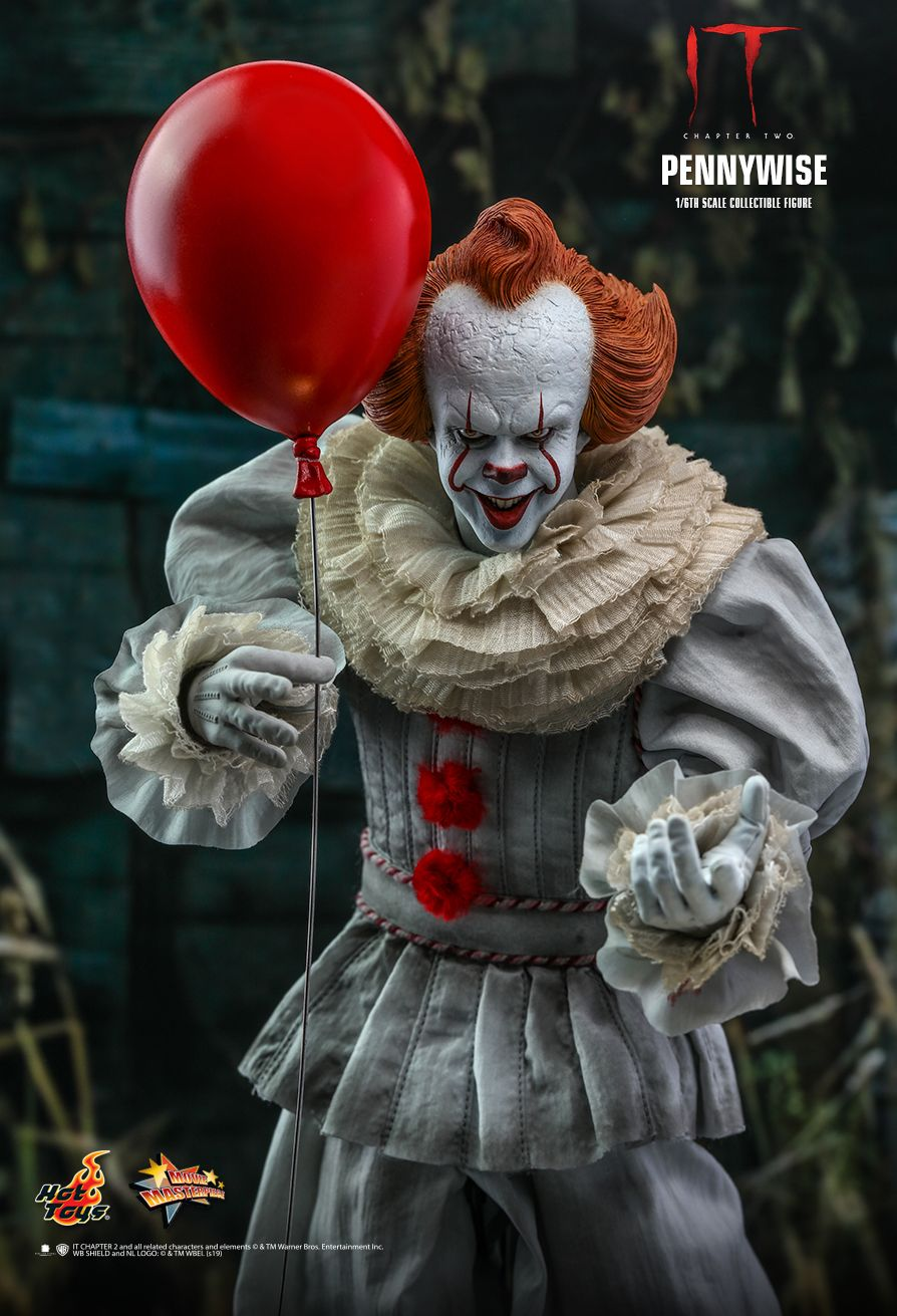 NEW PRODUCT: HOT TOYS: IT CHAPTER TWO PENNYWISE 1/6TH SCALE COLLECTIBLE FIGURE 5260