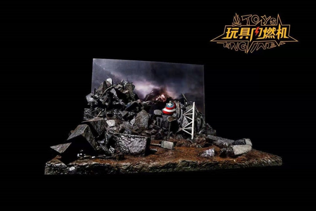 diorama - NEW PRODUCT: Toys Engine : Avengers Endgame Dynamic Stand Final Battle Scene 5277