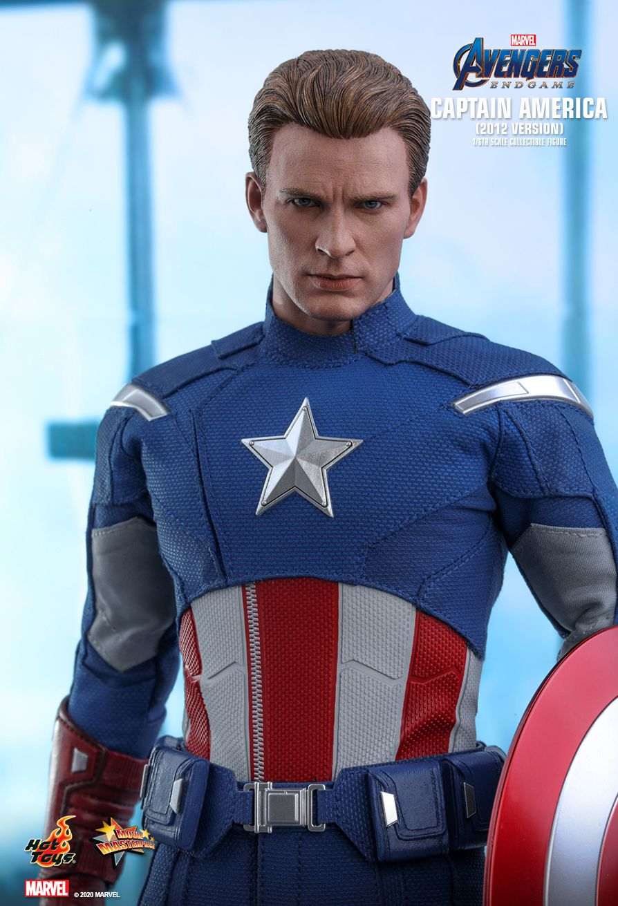movie - NEW PRODUCT: HOT TOYS: AVENGERS: ENDGAME CAPTAIN AMERICA (2012 VERSION) 1/6TH SCALE COLLECTIBLE FIGURE 5291