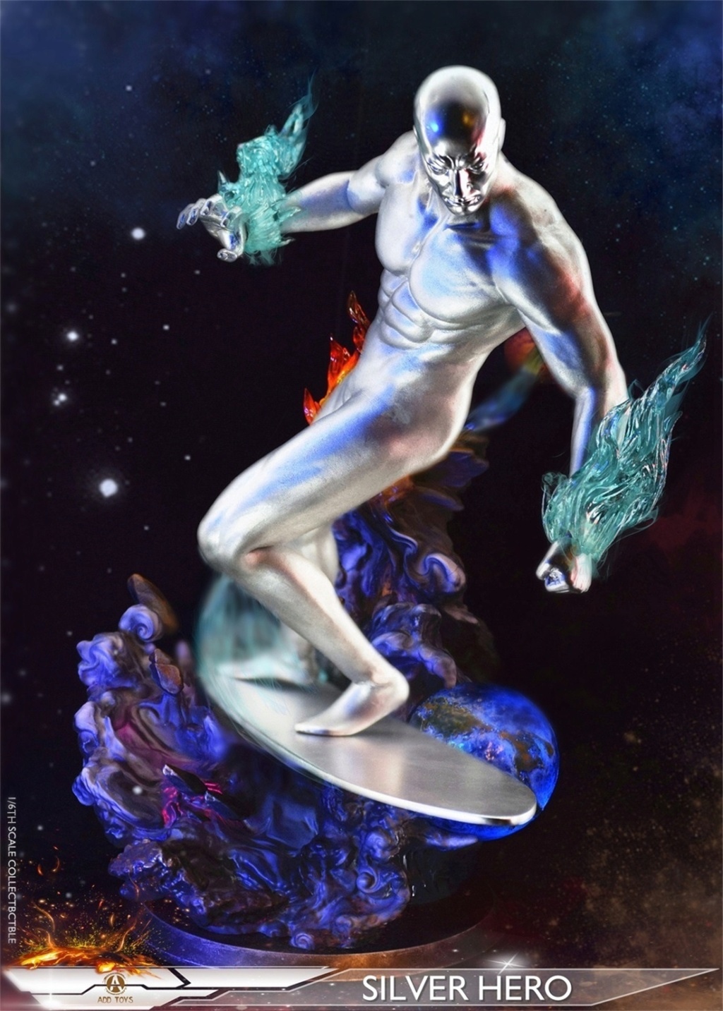 NEW PRODUCT: ADD Toys: 1/6 scale Silver Man/Silver Hero AD05 53044810