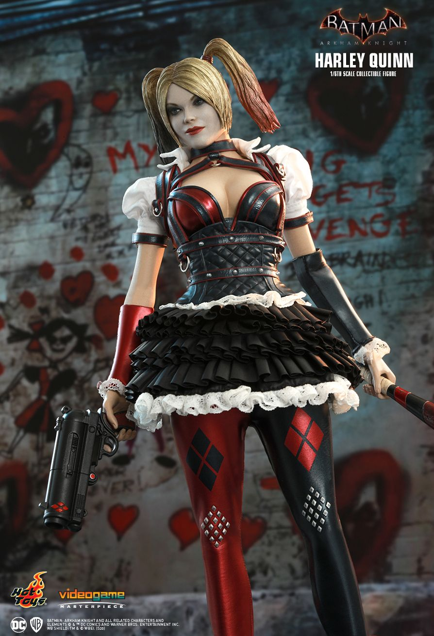 HarleyQuinn - NEW PRODUCT: HOT TOYS: BATMAN: ARKHAM KNIGHT HARLEY QUINN 1/6TH SCALE COLLECTIBLE FIGURE 5315