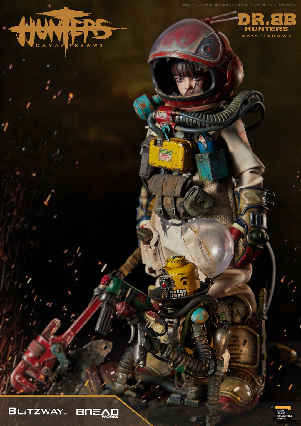 Robot - NEW PRODUCT: Blitzway: 1/6 scale HUNTERS : Day After WWlll: Dr.BB Action Figure 5316