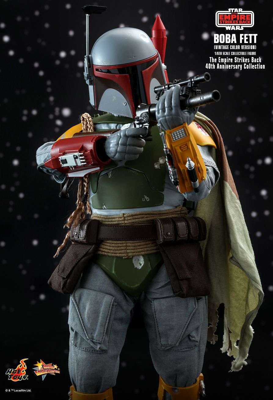 sci-fi - NEW PRODUCT: HOT TOYS: STAR WARS: THE EMPIRE STRIKES BACK™ BOBA FETT™ (VINTAGE COLOR VERSION) (40TH ANNIVERSARY COLLECTION) 1/6TH SCALE COLLECTIBLE FIGURE 5335