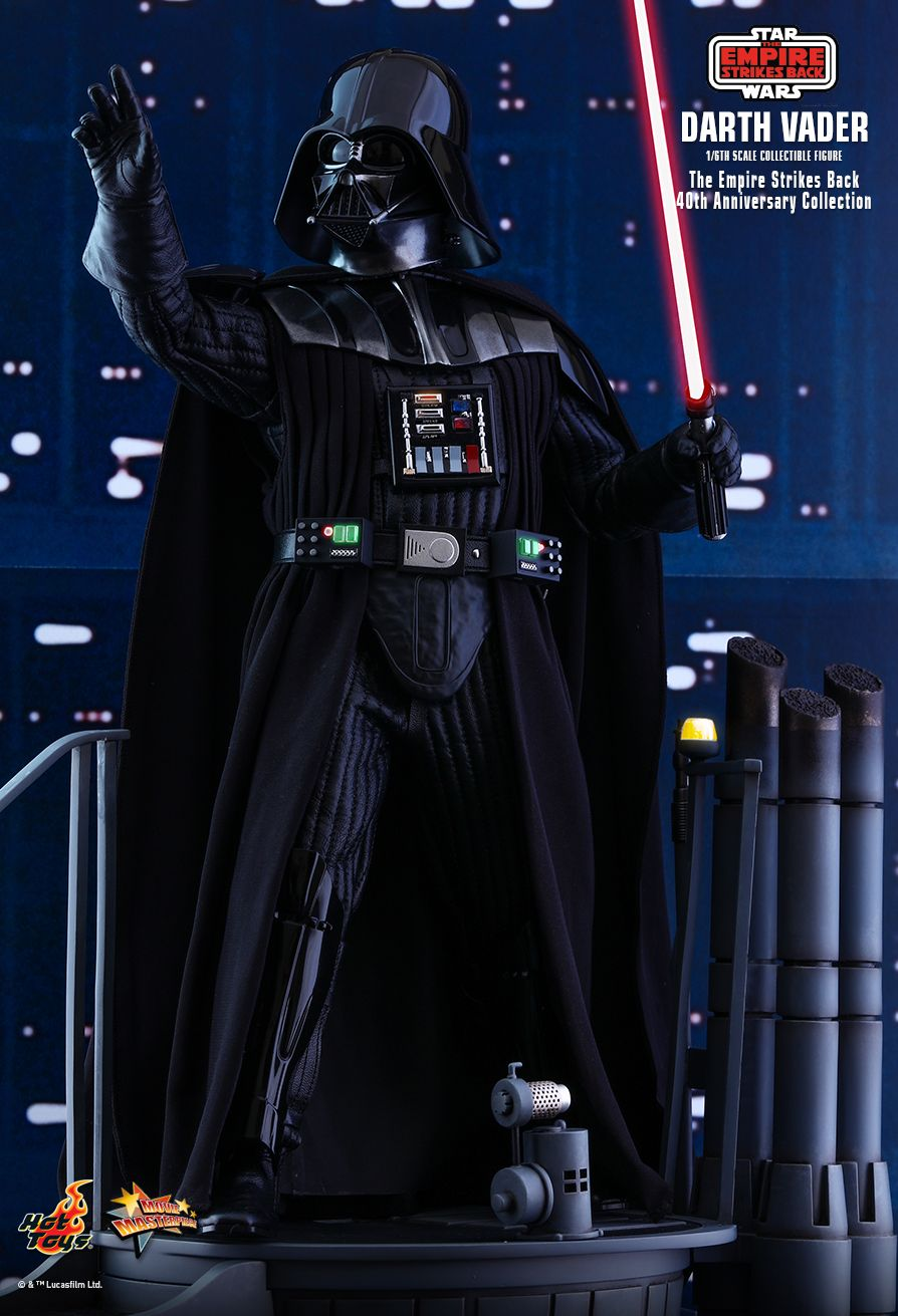 40thAnniversaryCollection - NEW PRODUCT: HOT TOYS: STAR WARS: THE EMPIRE STRIKES BACK™ DARTH VADER™ (40TH ANNIVERSARY COLLECTION) 1/6TH SCALE COLLECTIBLE FIGURE 5336