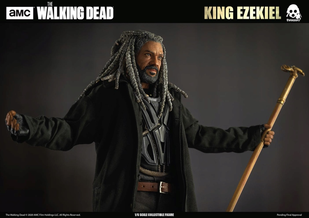 walkingdead - NEW PRODUCT: Threezero: The Walking Dead – 1/6 King Ezekiel 5363