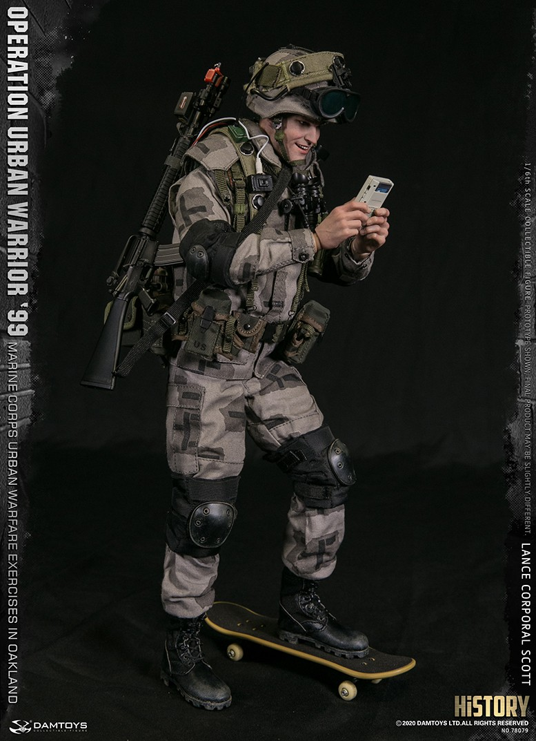 MarineCorps - NEW PRODUCT: DAMToys: 1/6 '99 City Warrior Operation-Marine Corps Oakland City Battle Exercise - Lance Corporal Scott #78079 5373