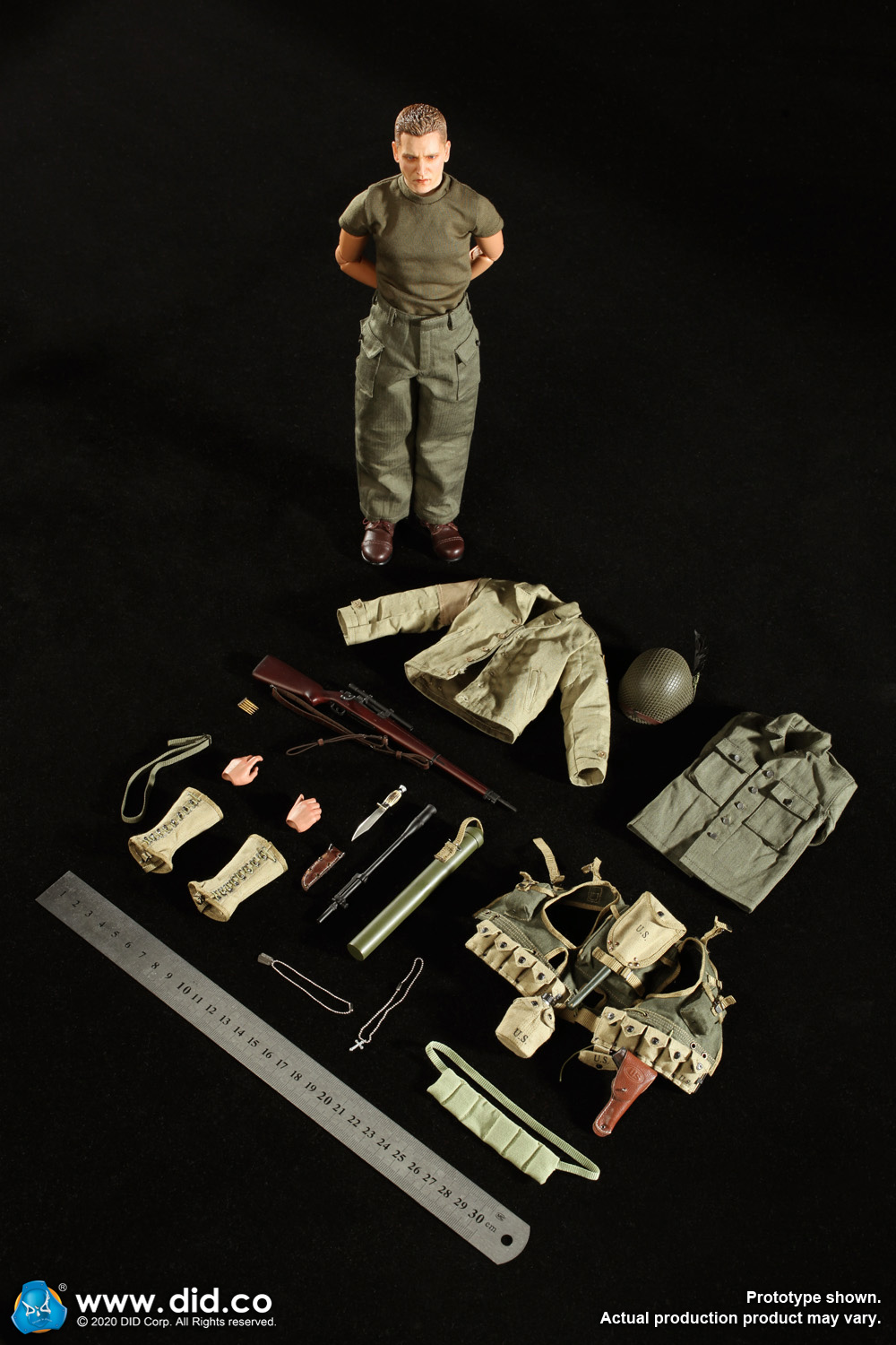DiD - NEW PRODUCT: DiD: A80144 WWII US 2nd Ranger Battalion Series 4 Private Jackson 5711