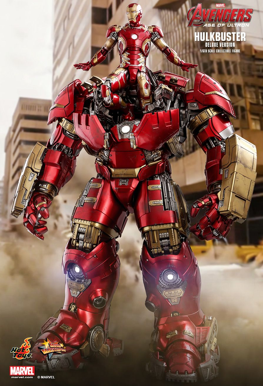 NEW PRODUCT: HOT TOYS: AVENGERS: AGE OF ULTRON HULKBUSTER (DELUXE VERSION) 1/6TH SCALE COLLECTIBLE FIGURE 581