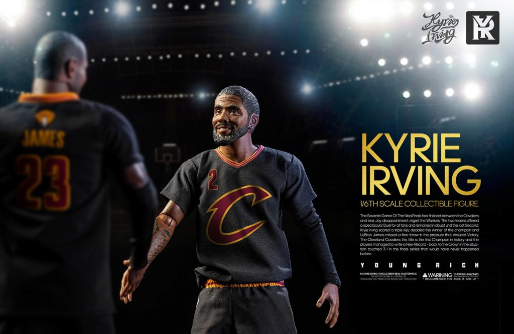 YoungRichToys - NEW PRODUCT: 1/6 Scale YOUNG RICH TOYS B001 KYRIE IRVING & UNCLE DREW Action Figure (standard & Deluxe) 587c2e10