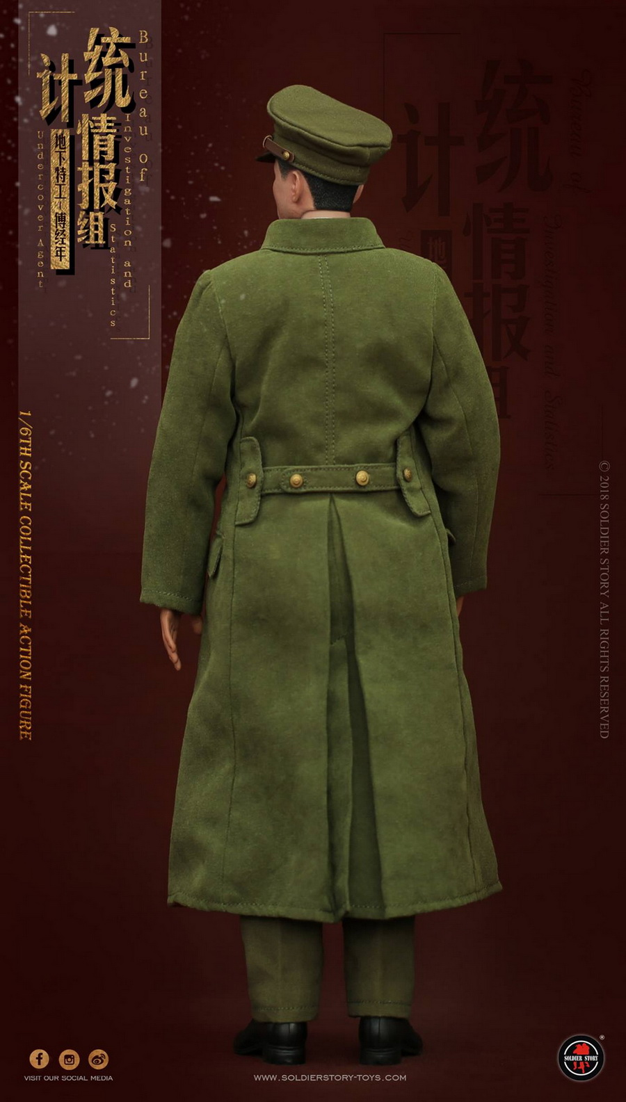 SoldierStory - NEW PRODUCT: SoldierStory new product: 1/6 World War II statistical intelligence group underground agent Fu Jingian - Shanghai 1942 (SS113#) 594