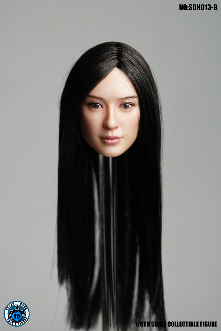 superduck - NEW PRODUCT: SUPER DUCK New product: 1/6 SDH013 female head carving - ABC three models 597