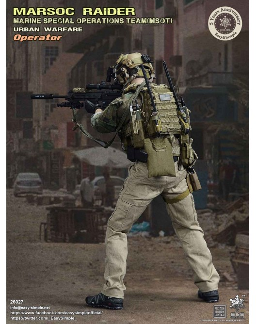 NEW PRODUCT: Easy & Simple 26027 1/6 Scale MARSOC Raider Urban Warfare Operator 6-528x10