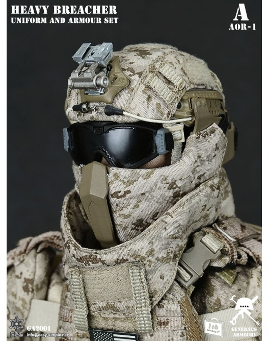 General - NEW PRODUCT: General's Armoury GA2001 1/6 Scale Heavy Breacher Uniform and Armour Set 6-528x11