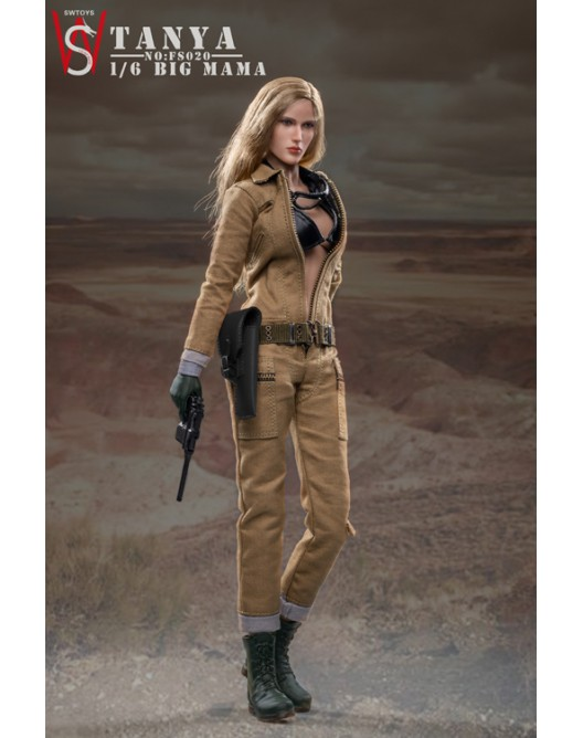 military - NEW PRODUCT: Swtoys FS020 1/6 Scale Big Mama (Tanya) action figure 6-528x17
