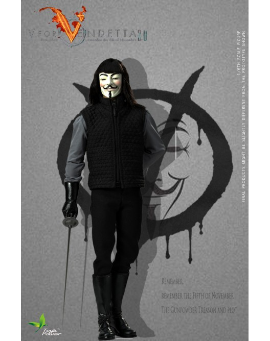 ToysPower - NEW PRODUCT: Toyspower CT013 1/6 Scale V for VENDETTA 2.0 6-528x19