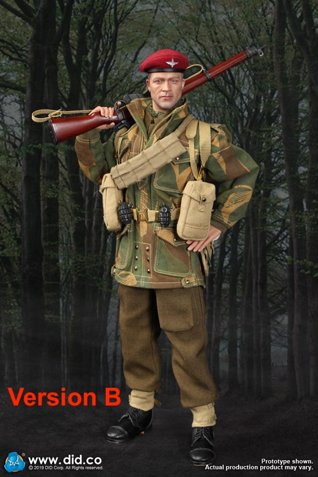 military - NEW PRODUCT: DID & 3R:(GIDID-K80136) Sergeant Charlie: British 1st Airborne Division (Red Devils) 60720410
