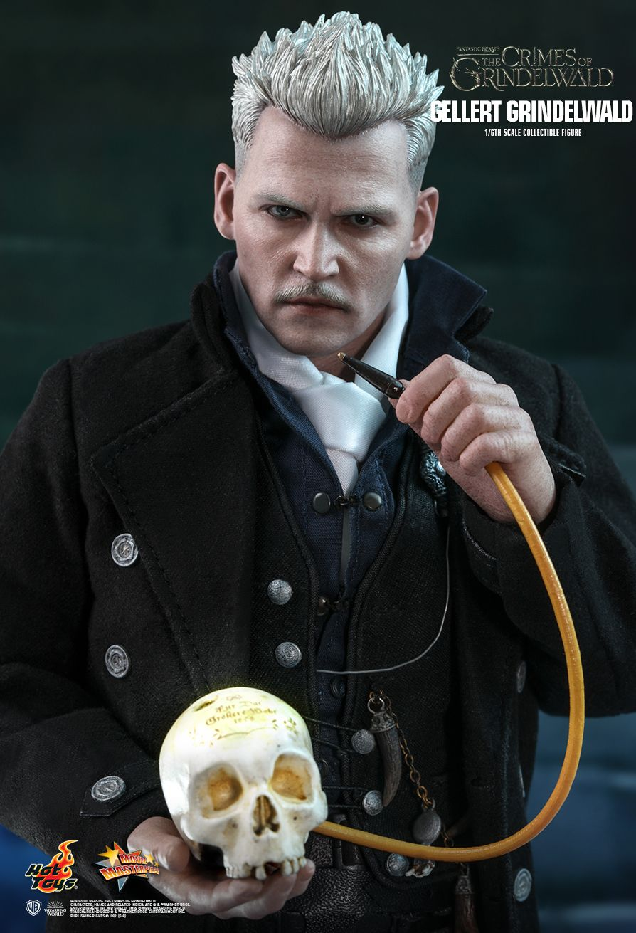 NEW PRODUCT: HOT TOYS: FANTASTIC BEASTS: THE CRIMES OF GRINDELWALD GELLERT GRINDELWALD 1/6TH SCALE COLLECTIBLE FIGURE 6104