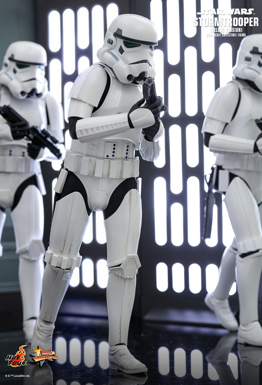 stormtrooper - NEW PRODUCT: HOT TOYS: STAR WARS STORMTROOPER (DELUXE VERSION) 1/6TH SCALE COLLECTIBLE FIGURE 6107