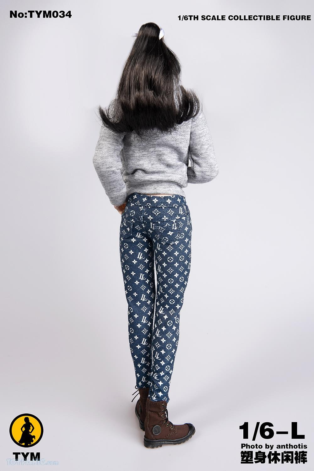 clothes - NEW PRODUCT: 1/6 LL Trendy printed jeans  From Technic Toys  Code: TYM034 61201915