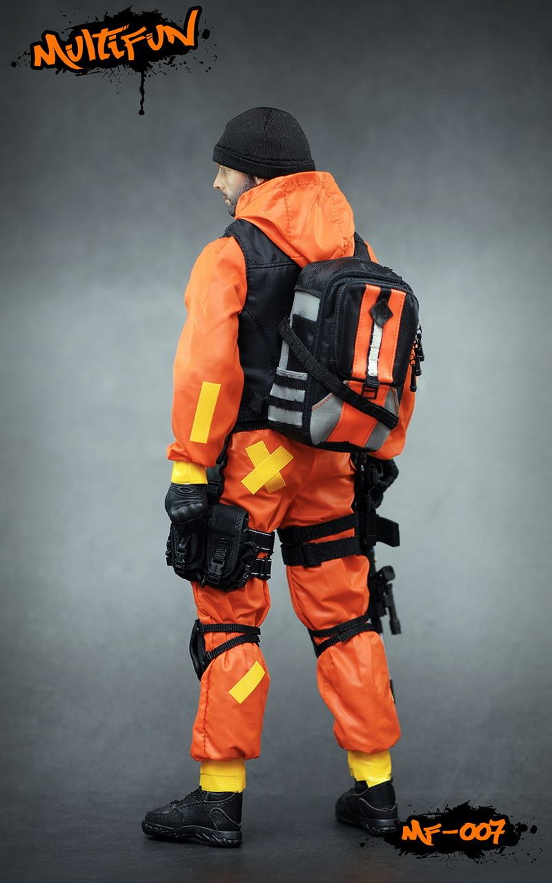 NEW PRODUCT: MULTIFUN 1/6th scale Quarantine Zone Agent 12-inch action figure Set 6121