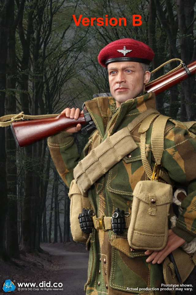 military - NEW PRODUCT: DID & 3R:(GIDID-K80136) Sergeant Charlie: British 1st Airborne Division (Red Devils) 61261610