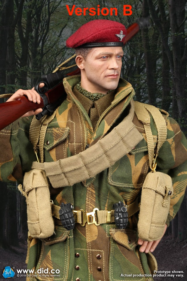 DiD - NEW PRODUCT: DID & 3R:(GIDID-K80136) Sergeant Charlie: British 1st Airborne Division (Red Devils) 61271110