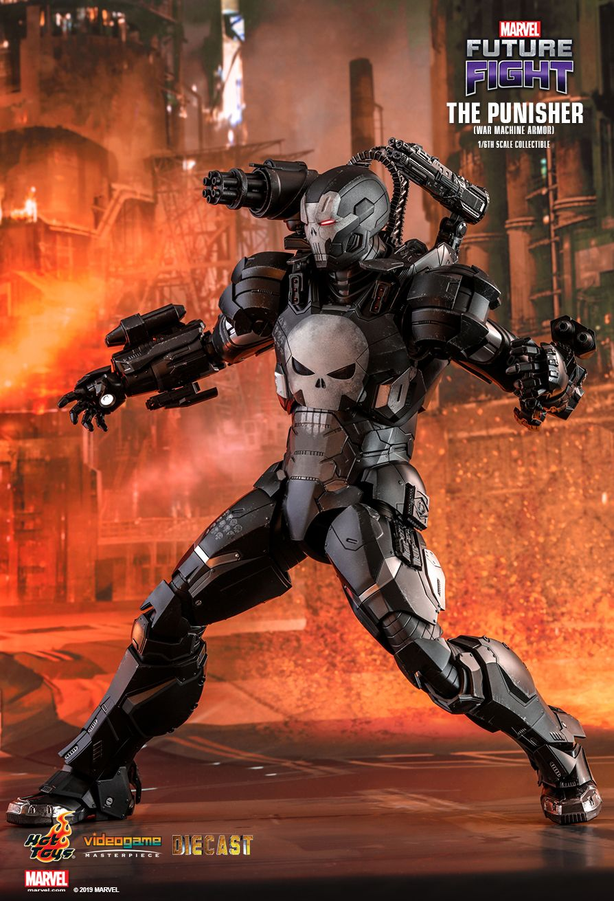 Videogame - NEW PRODUCT: HOT TOYS: MARVEL FUTURE FIGHT THE PUNISHER (WAR MACHINE ARMOR) 1/6TH SCALE COLLECTIBLE FIGURE 6133