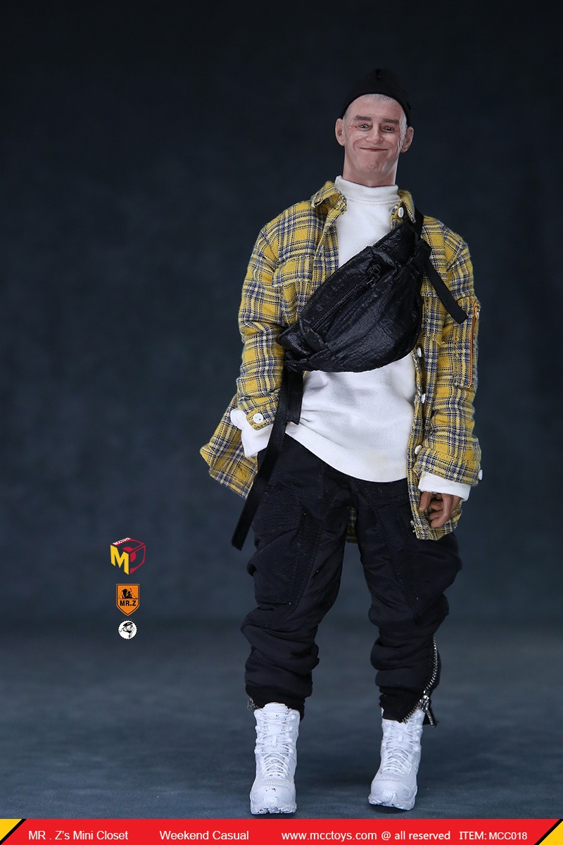 MCCTOys - NEW PRODUCT: MCCToys x Mr.Z: 1/6 Z's Mini Closet Series - Weekend Casual Set (MCC01#) 6138