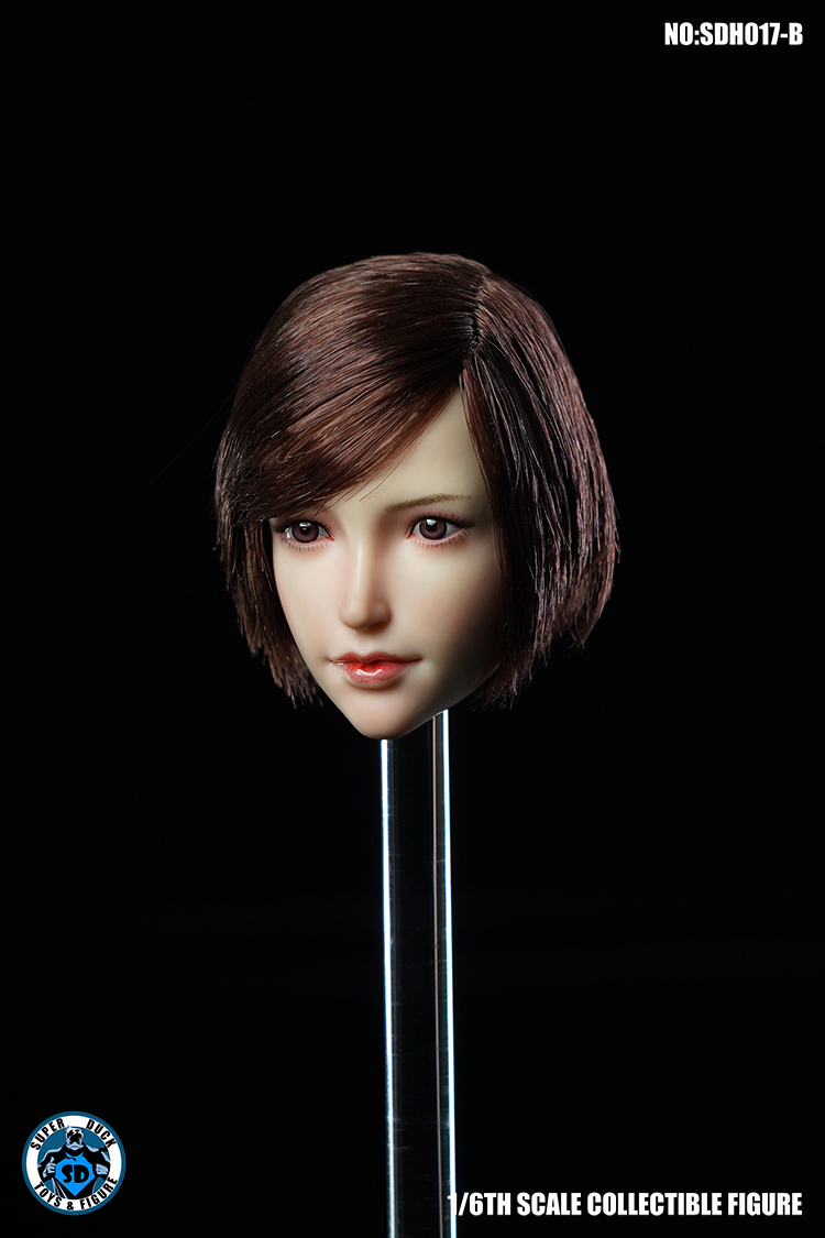 superduck - NEW PRODUCT: SUPER DUCK New product: 1/6 SDH017 Female head carving - ABC three models 6150