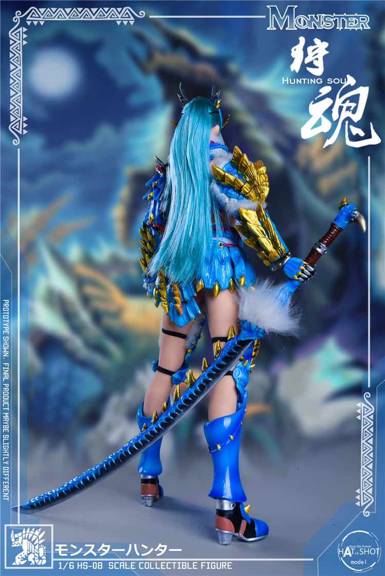 fantasy - NEW PRODUCT: HATSHOT: [HS-08] 1:6 Hunting Soul Doll Version Figure Accessories & [HS-08D] 1:6 Hunting Soul Doll & Platform Version Figure Accessories 6158