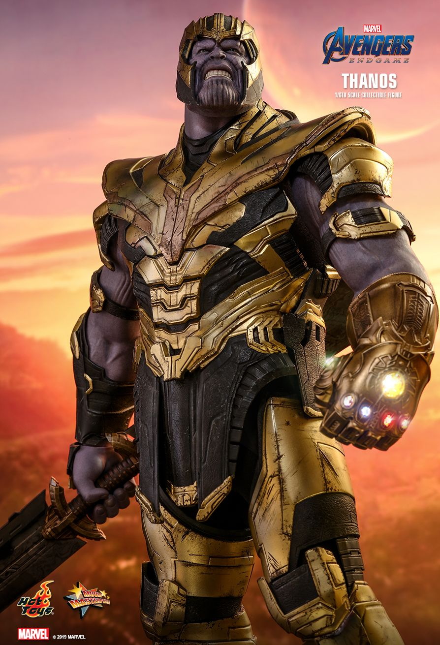 Thanos - NEW PRODUCT: HOT TOYS: AVENGERS: ENDGAME THANOS 1/6TH SCALE COLLECTIBLE FIGURE 6170