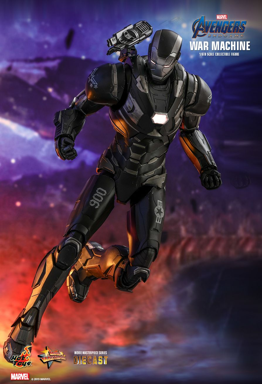 WarMachine - NEW PRODUCT: HOT TOYS: AVENGERS: ENDGAME WAR MACHINE 1/6TH SCALE COLLECTIBLE FIGURE 6180