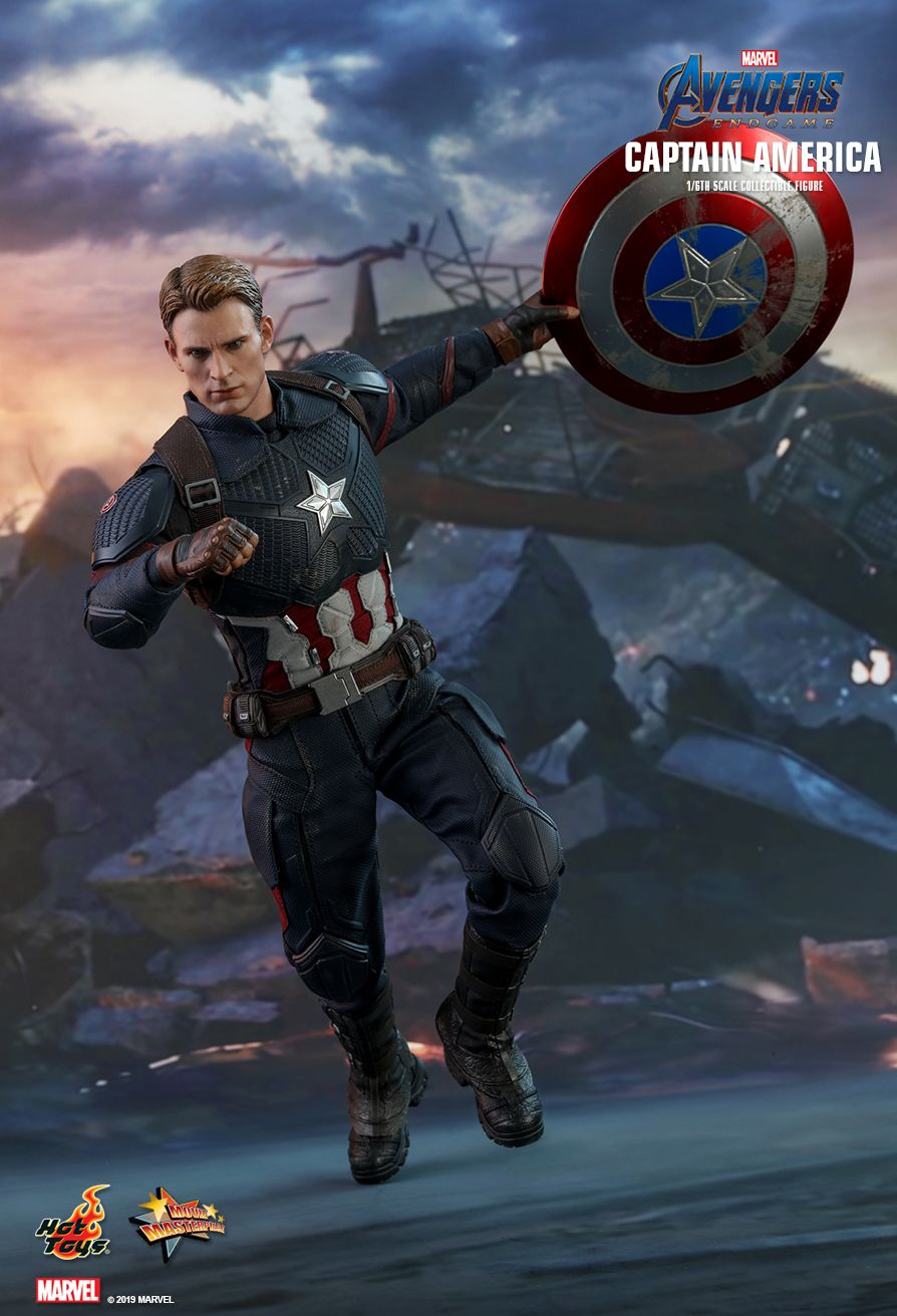 captainamerica - NEW PRODUCT: HOT TOYS: AVENGERS: ENDGAME CAPTAIN AMERICA 1/6TH SCALE COLLECTIBLE FIGURE 6186