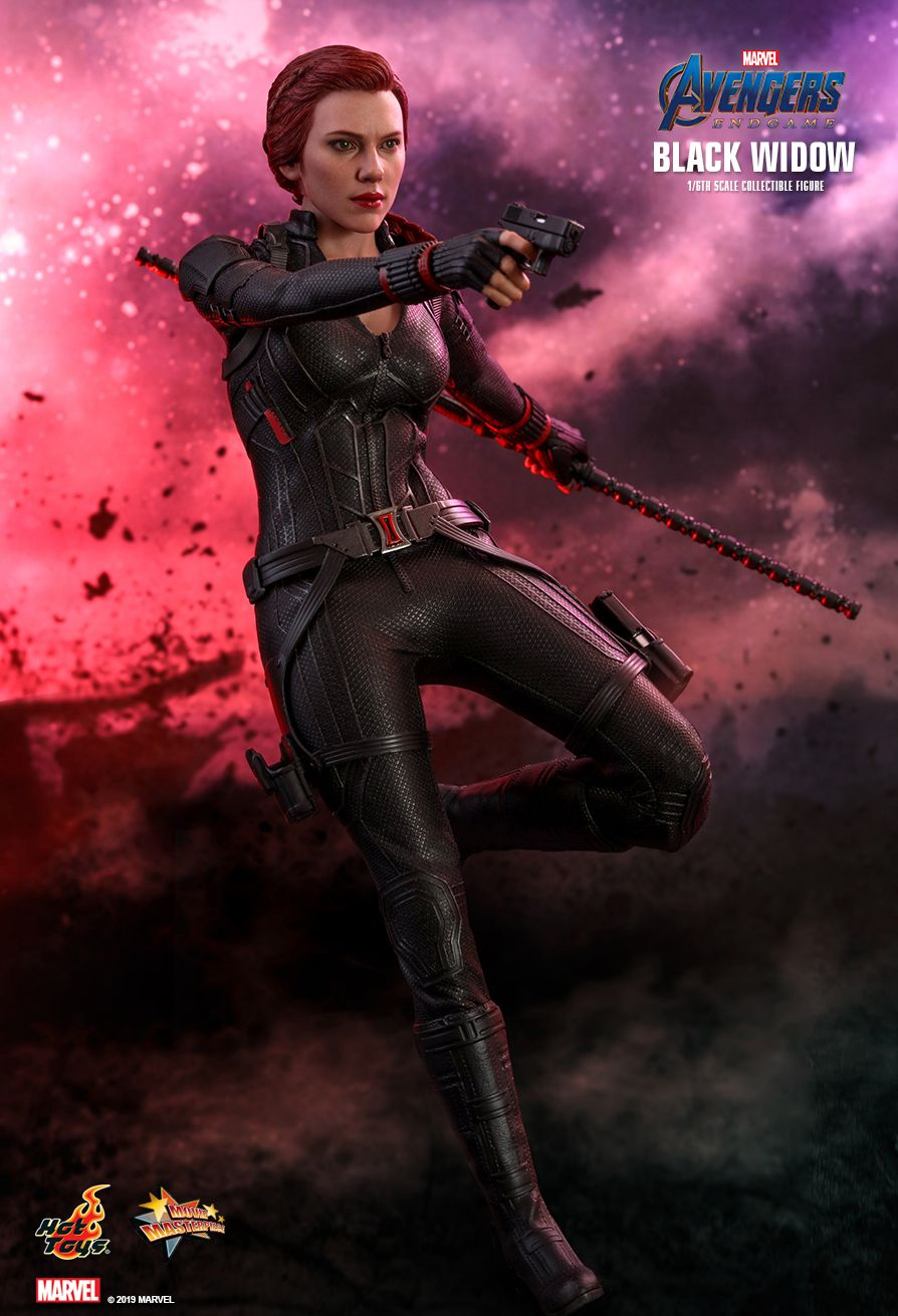 EndGame - NEW PRODUCT: HOT TOYS: AVENGERS: ENDGAME BLACK WIDOW 1/6TH SCALE COLLECTIBLE FIGURE 6187