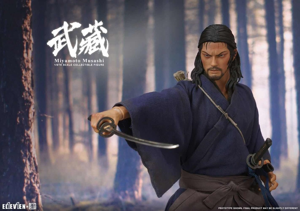 NEW PRODUCT: Eleven X KAI Musashi 1/6 Scale Figure 6197