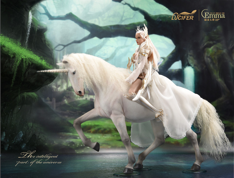 fantasy - NEW PRODUCT: [LXF-1904B] Elf Queen Emma Queen Version 1:6 Figure by Lucifer 6207