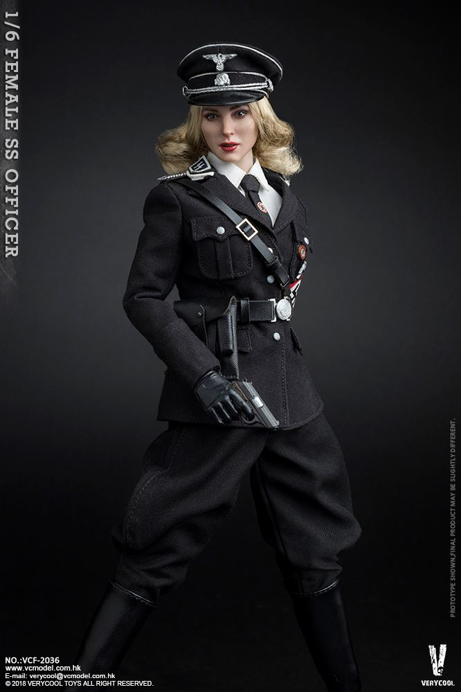 VeryCool - NEW PRODUCT: VERYCOOL VCF-2036 1/6 SS Female Officer 622