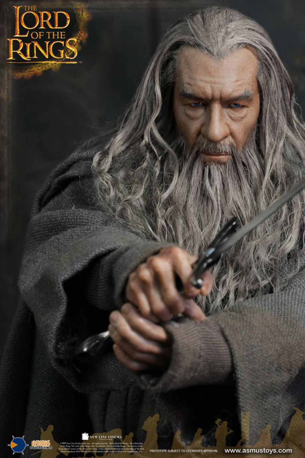lordoftherings - NEW PRODUCT: ASMUS TOYS THE CROWN SERIES : GANDALF THE GREY 1/6 figure 6220