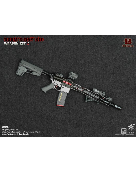 NEW PRODUCT: Easy&Simple: 06018 1/6 Scale PMC Weapon Set in 3 Styles & 06019 1/6 Scale Doom's Day Weapon Set in 3 Styles 6222