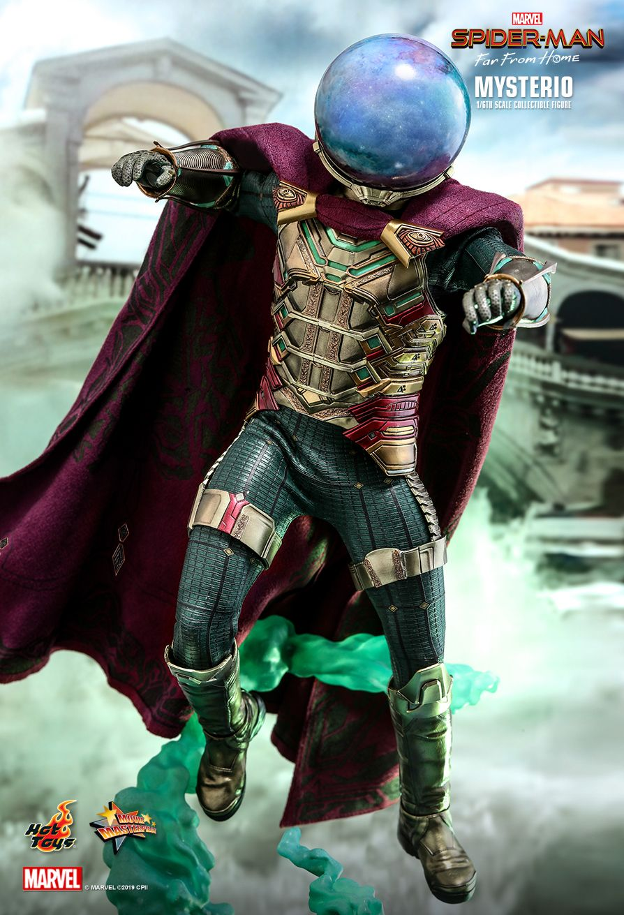 NEW PRODUCT: HOT TOYS: SPIDER-MAN: FAR FROM HOME MYSTERIO 1/6TH SCALE COLLECTIBLE FIGURE 6248